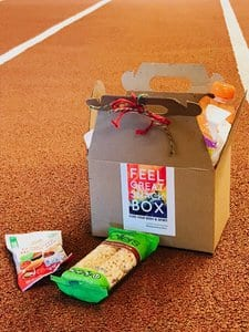 healthy snack box delivery for field and track meets, practices and tournaments