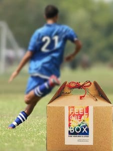 healthy snack box delivery for soccer games, practices and tournaments