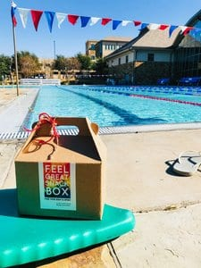healthy snack box delivery for swimming meets, practices and tournaments