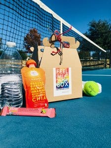 tennis court - Feel Great Snack Box