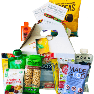 healthy snack box for two